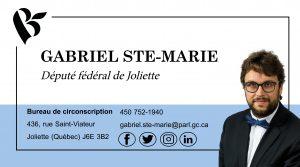 M. Gabriel Ste-Marie